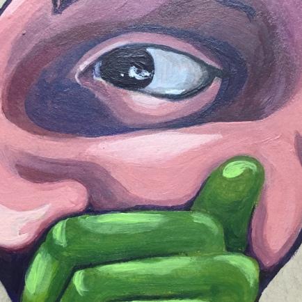 126 close up CognEYEzant.NadiaCDM. Nadia Daniels-Moehle. Day One Hundred Twenty-Six. Forward Thinking, Present Bound